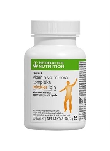 Herbalife Herbalife Formül 2 Vitamin ve Mineral Kompleks Erkekler Için 60 Tablet Renksiz